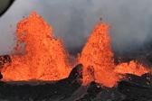 如临外星!夏威夷基拉韦厄火山喷发场景