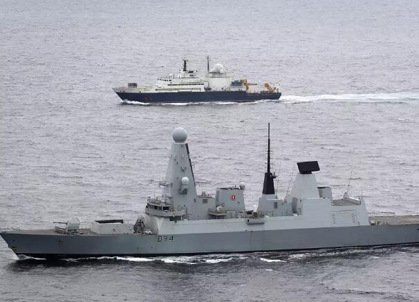 俄侦察船穿越英吉利海峡 英国急派军舰战机监视