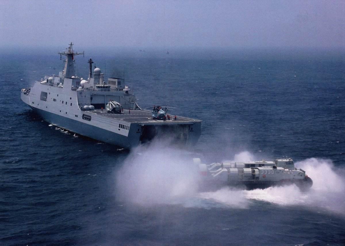 港媒:中国陆战队规模显著扩大 开建075两栖舰