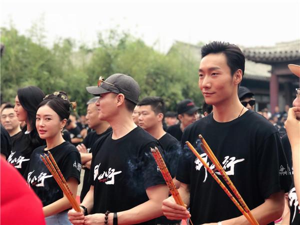 陈凯歌监制《外八行》开机 张傲月演绎民国野心家