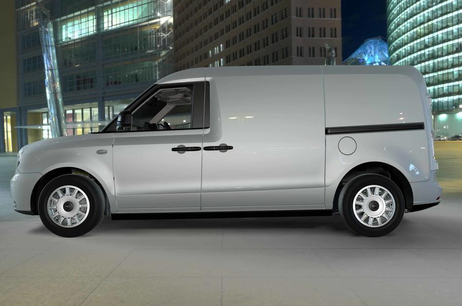 伦敦电动汽车公司发布插电式混动货车 明年年底上市
