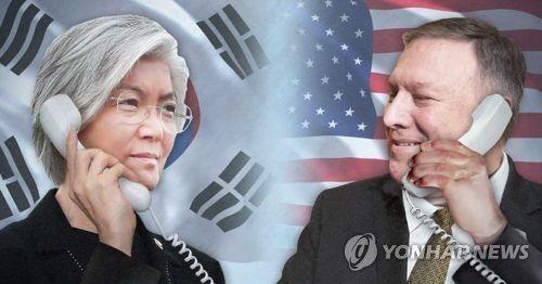 美国务卿和韩外长通话 就金特会交换意见