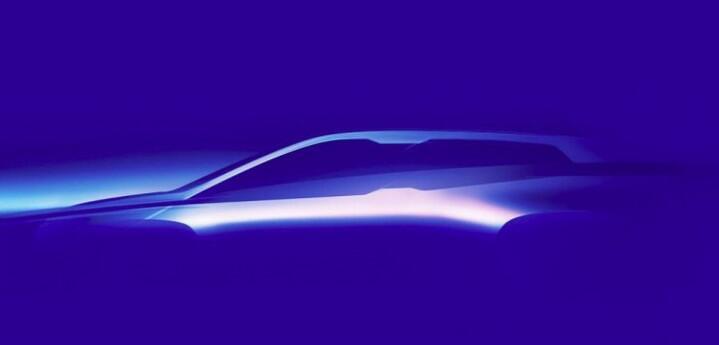 宝马发布纯电动SUV iNext预告图 新一代旗舰面世