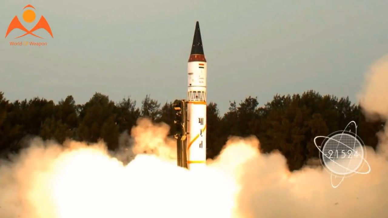 印度欢呼烈火5导弹再射成功 称正在研发烈火6洲际导弹