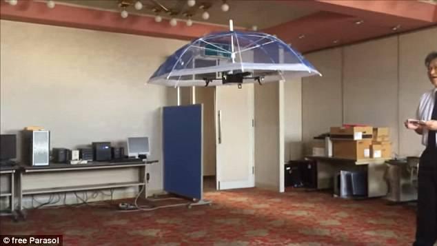 有型有范!伞形无人机解放你的双手 可飞20分钟