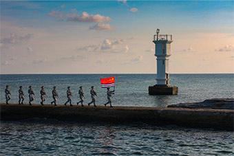 南沙永暑礁风景美如画