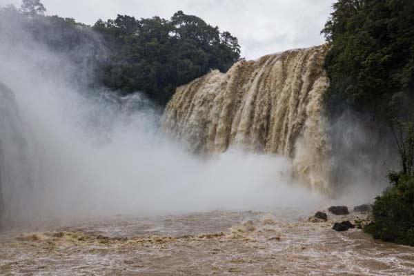 贵州黄果树瀑布流量达2018年入汛以来最大