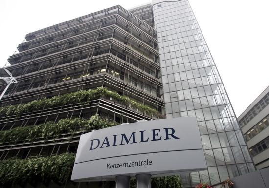 戴姆勒或因柴油车排放造假遭37.5亿欧元罚款