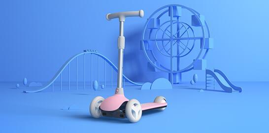安全又灵活!米兔儿童滑板车发布 售249元
