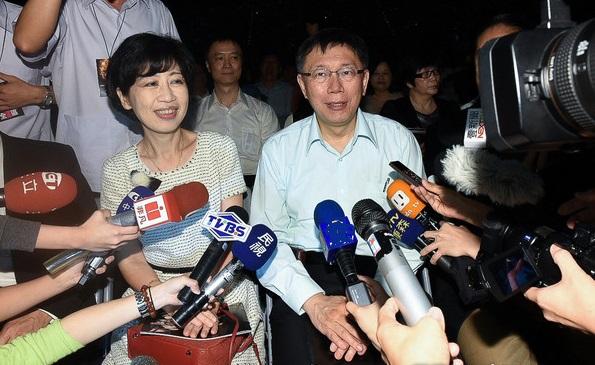 柯文哲之妻陈佩琪怒了!限三立7天内登头版道歉并捐款