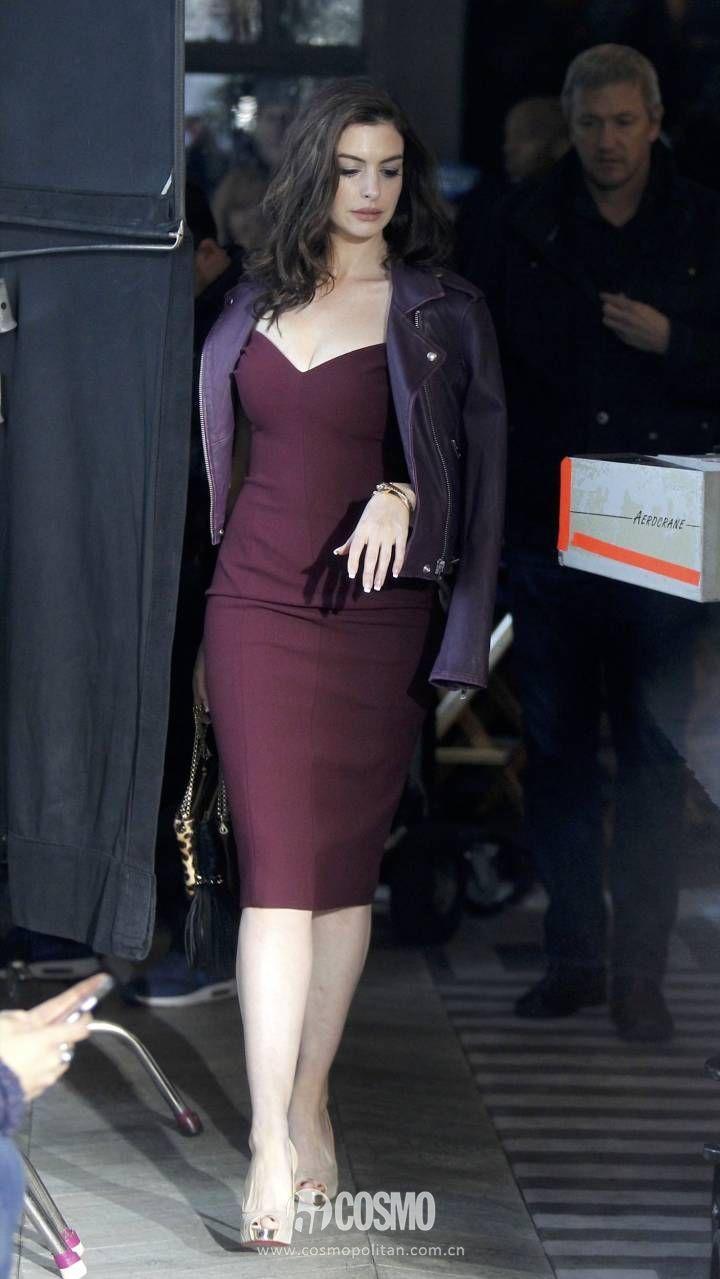 时髦办   安妮海瑟薇的裙装,厉害!