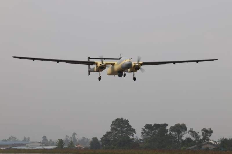 大型无人机进军森林防火应急救援
