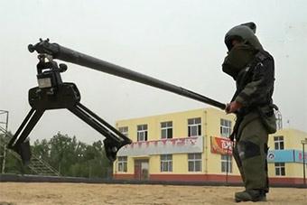 武警反恐演练展示特战防爆设备