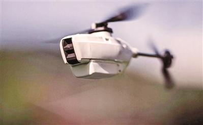 """澳大利亚装备""""黑蜂""""微型无人机 仅重20克单价80万"""