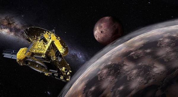 美国科学家在冥王星发现冻结的甲烷沙丘