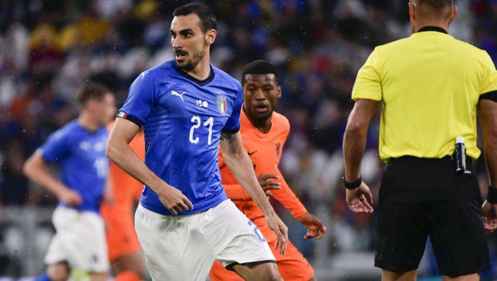 扎扎建功克里希托染红 10人意大利1-1荷兰