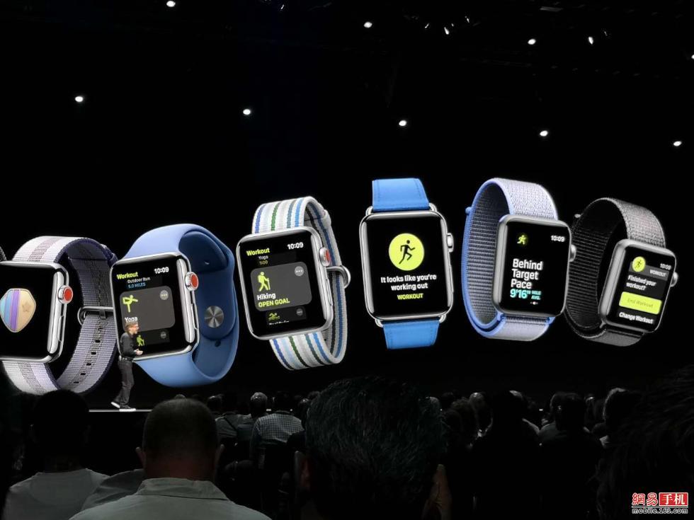 唤醒Siri更方便新增对讲功能 Watch OS 5升级一览