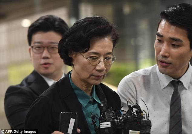韩国法院拒下批捕令 大韩航空会长夫人获释引众怒