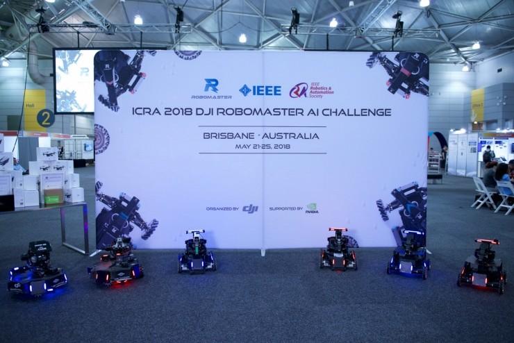 AI、自动化为硬核:DJI RoboMaster机器人挑战赛
