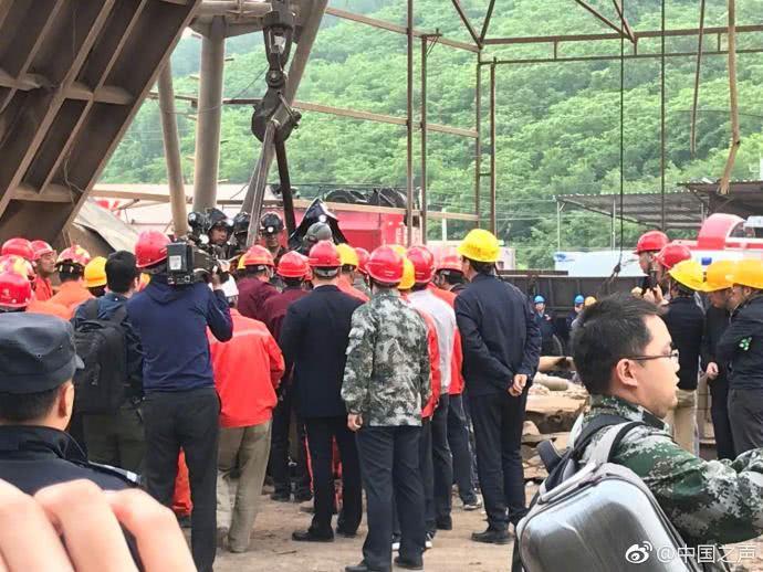 辽宁思山岭铁矿第三批6名被困工人升井 己救18人