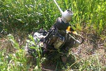 乌克兰军方宣称击落一架俄罗斯无人机