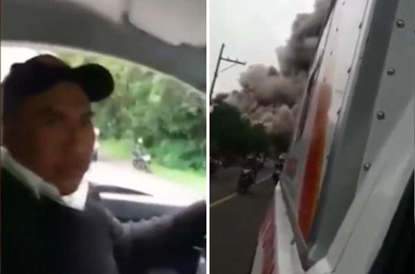 危地马拉火山喷发69人死 视频曝光逃生时刻