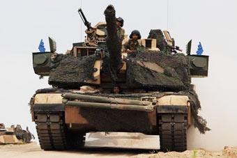 这才是完全体?美军M1坦克装上主动防御系统