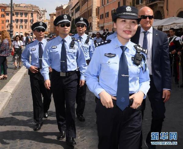 网赌北京快乐8真假?:有型有款有担当_这群中国警察帅到海外!