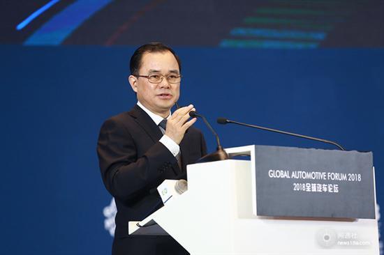 朱华荣:兼并重组变频繁 长安机遇大于挑战