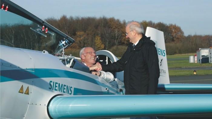 西门子eFusion电动飞机上周坠机 两名飞行员遇难