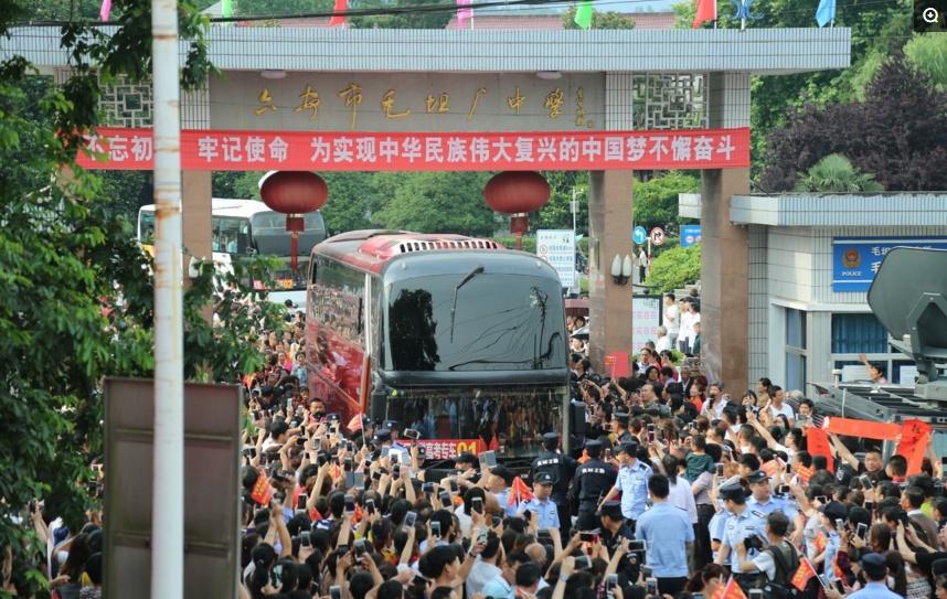 外媒:好运,中国高考的孩子们!