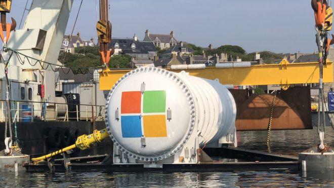 微软在海面下36米安装数据中心 冷却效果更佳