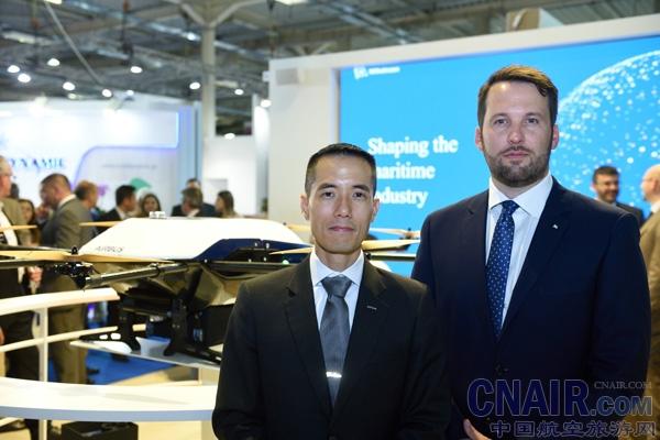 空客与威廉森合作开发海上运输无人机系统