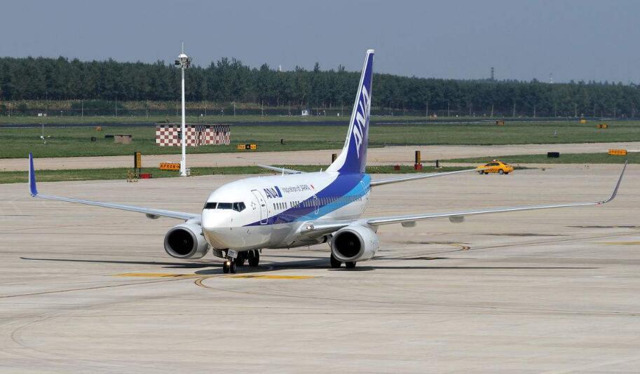 日本全日空航空一航班起飞时急刹车 导致5名空乘受伤