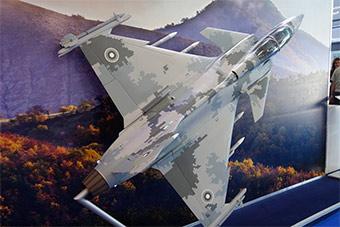保加利亚国际防务展展示其JAS39战机