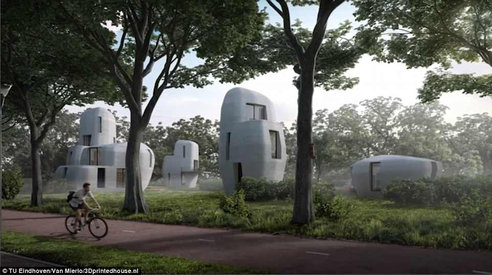 荷兰将建世界首座3D打印房 预计将于明年完工