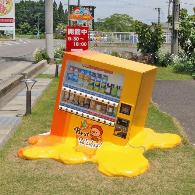 """自动售货机被热化了?日本一美术馆行为艺术作品成""""网红"""""""