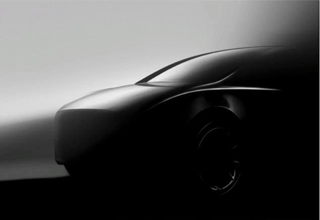 特斯拉公布Model Y正面轮廓图 可能没有方向盘