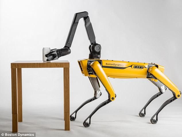 波士顿动力公司CEO:狗型SpotMini机器人将于明年发售