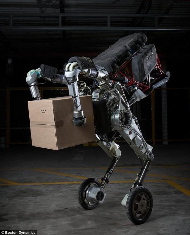 起底網紅機器人波士頓動力