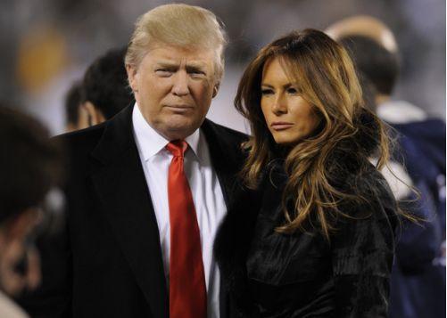 """特朗普发推特抨击给第一夫人制造谣言者""""恶毒"""""""