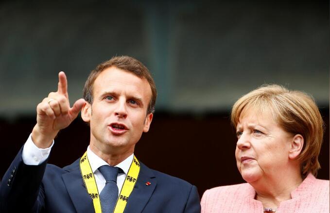 马克龙和默克尔准备在G7峰会上挑战美国 或首次不发表联合公报