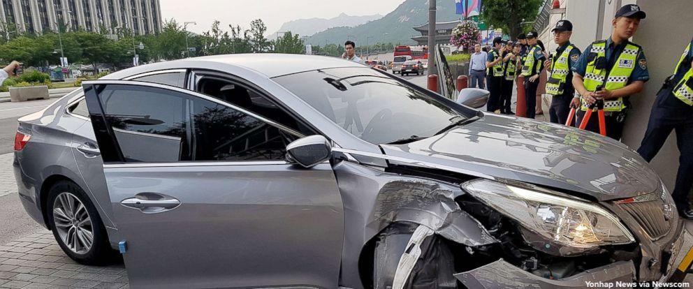快讯!外媒:美国驻韩使馆遭小轿车冲撞