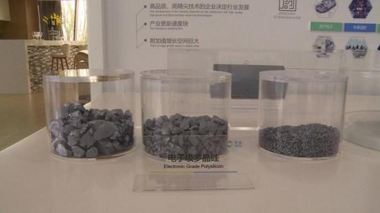 过去中国市场上的集成电路用多晶硅材料基本完全依赖进口.