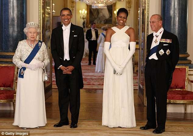外媒曝奥巴马访英趣事:白金汉宫套房中惊现老鼠
