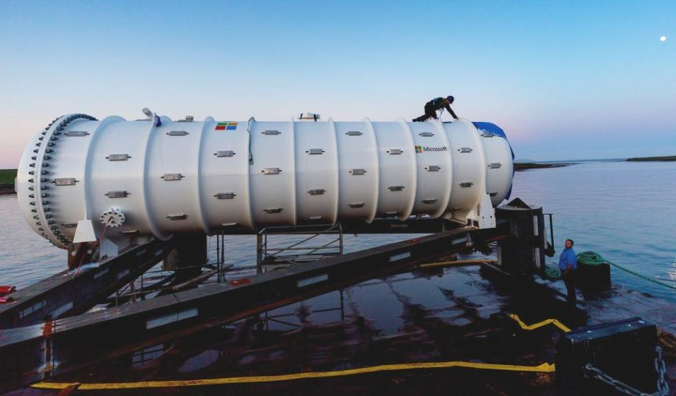 微软海面下36米安装数据中心原型 冷却效果更佳