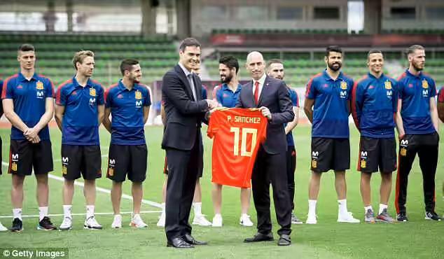西班牙首相造访 德赫亚全程冷脸2年前结下梁子!