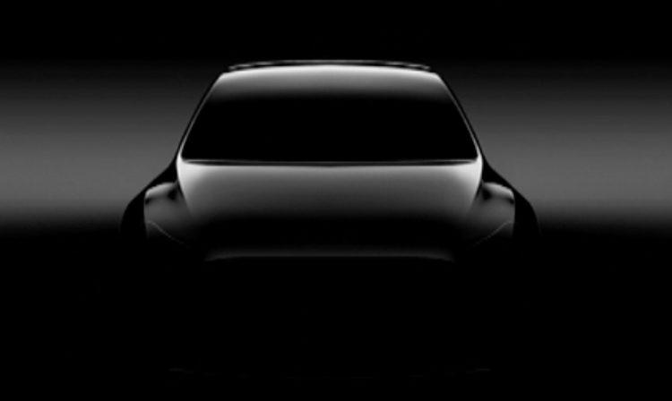 特斯拉公布Model Y跨界车预告图 或将明年3月发布