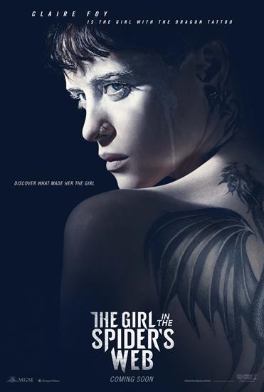 《蜘蛛网中的女孩》海报预告 女黑客遇爆炸危机