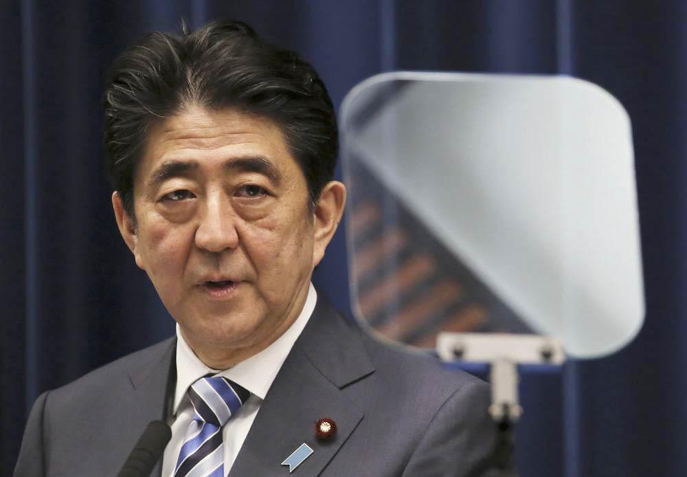 安倍称希望通过日朝首脑会谈解决朝鲜绑架日本人问题